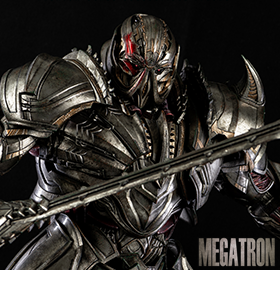 THREEA TRANSFORMERS: THE LAST KNIGHT MEGATRON PREMIUM SCALE COLLECTIBLE