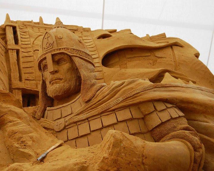 Ад в песке и другие скульптуры Рея Виллафейна