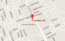 Map of LARISSA IMPERIAL, LUXURY hoteL, LARISSA