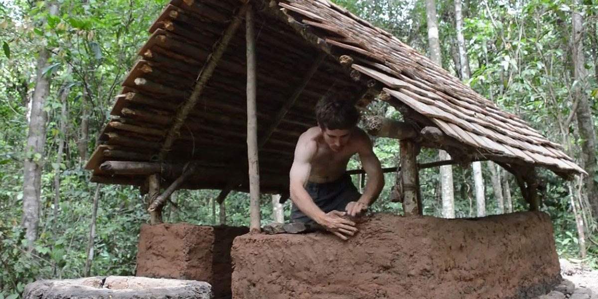 Primitive Technology Hut