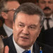 President Viktor F. Yanukovich, right, held his first face-to-face meeting with opposition leaders on Friday.