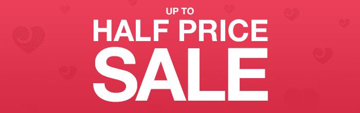 Up to 50% off Sale at Lovehone...