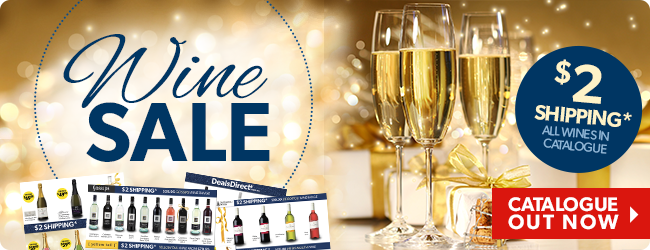 Wine catalogue sale  Moet & Chandon, Gossips, Yellow Tail & Killawarra and more plus $2 shipping at DealsDirect.com.au