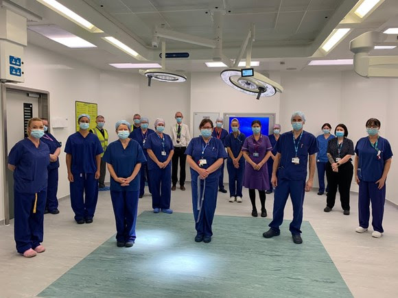 New £2.5 million operating theatre at royal lancaster infirmary is officially opened