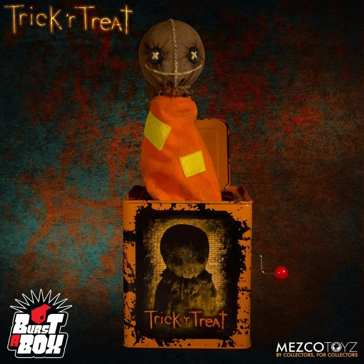 Image of Trick 'r Treat Burst-A-Box Sam