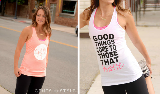 IMAGE: Fashion Friday- 50% off Fashionable Workout Tanks & FREE SHIPPING with Code WORK