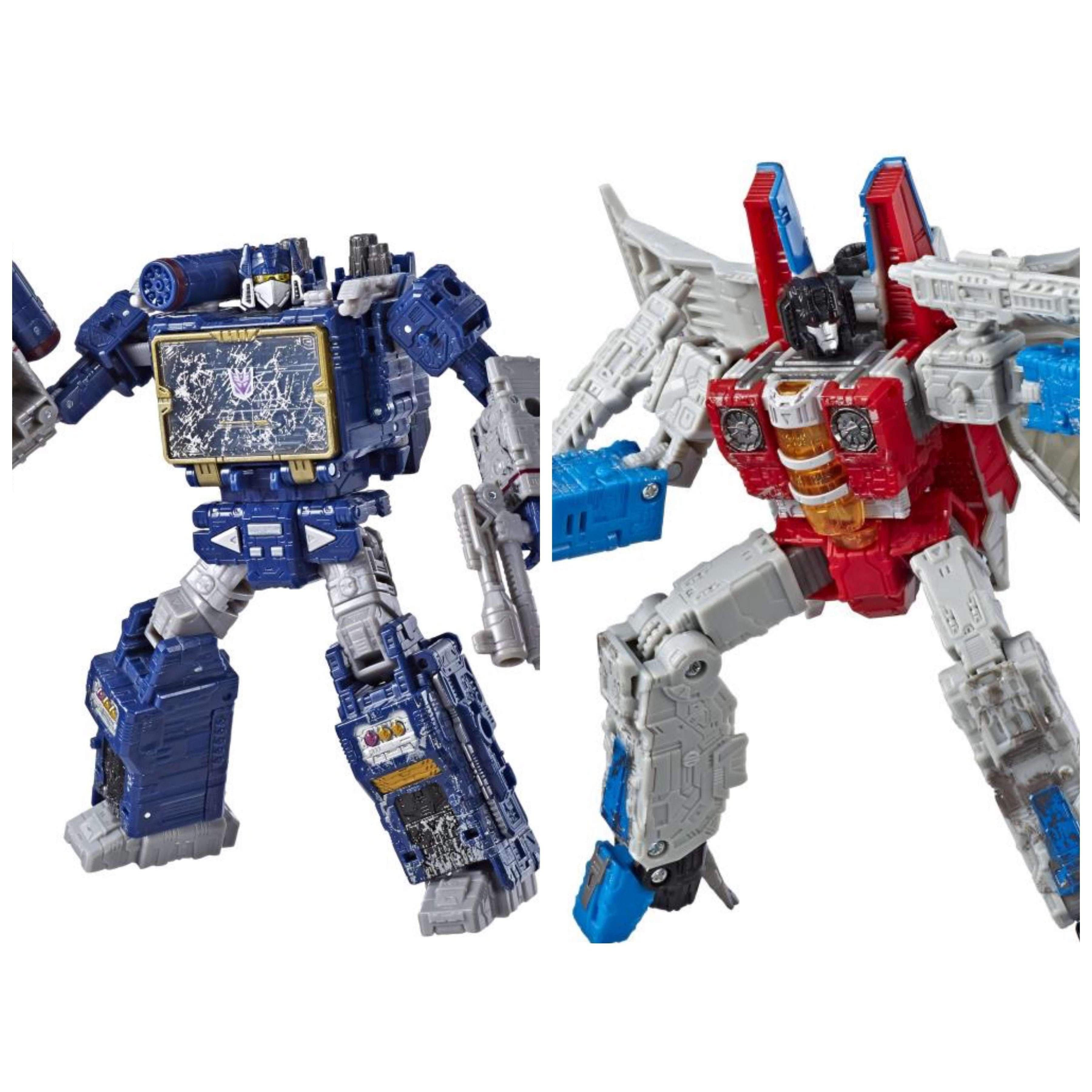 Image of Transformers War for Cybertron: Siege Voyager Wave 2 - Set of 2 - FEBRUARY 2019