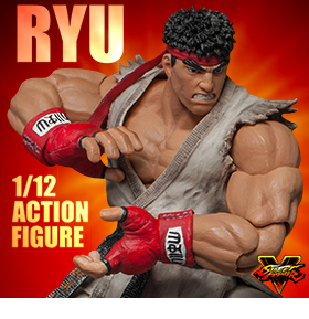 STREET FIGHTER V 1:12 SCALE RYU FIGURE