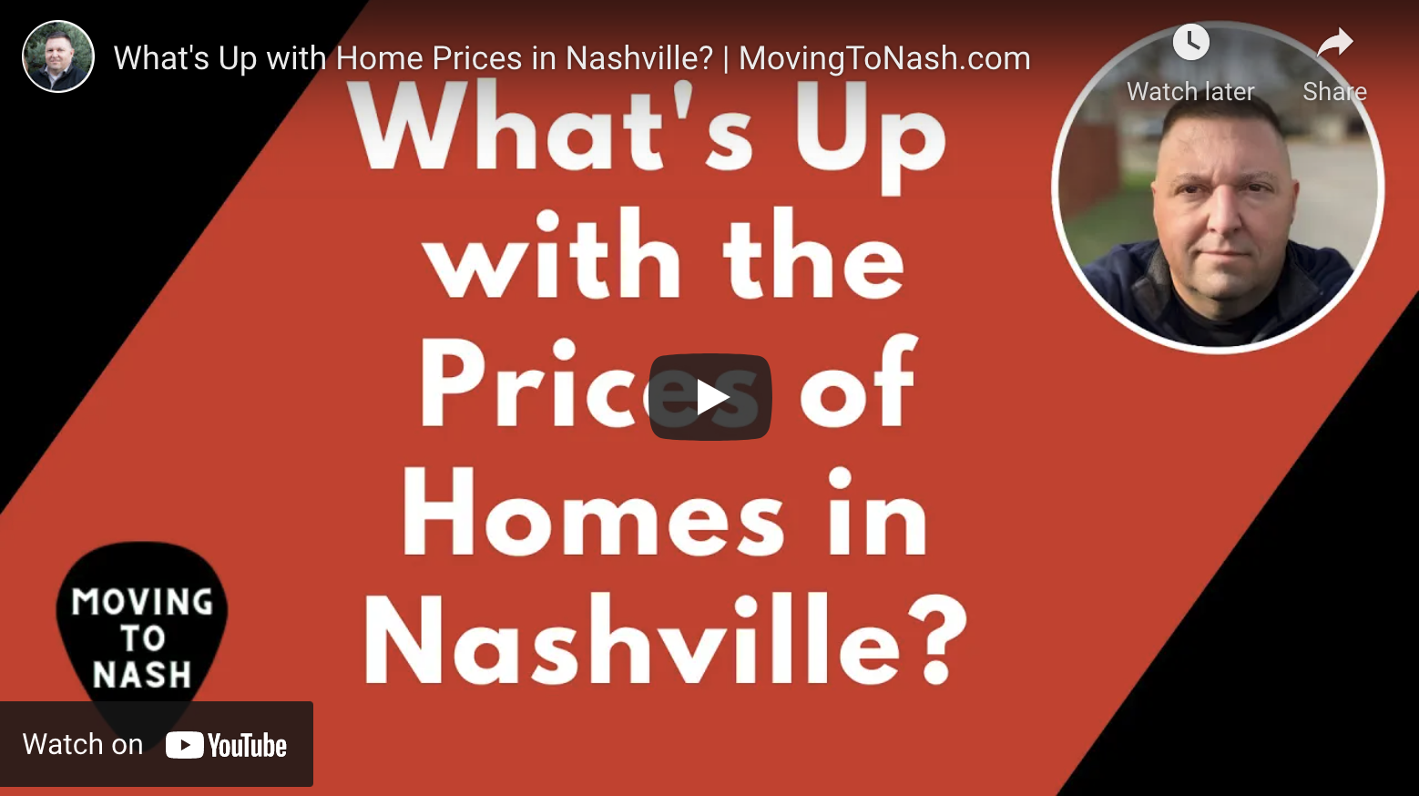 What's Up with the Price of Nashville Homes?