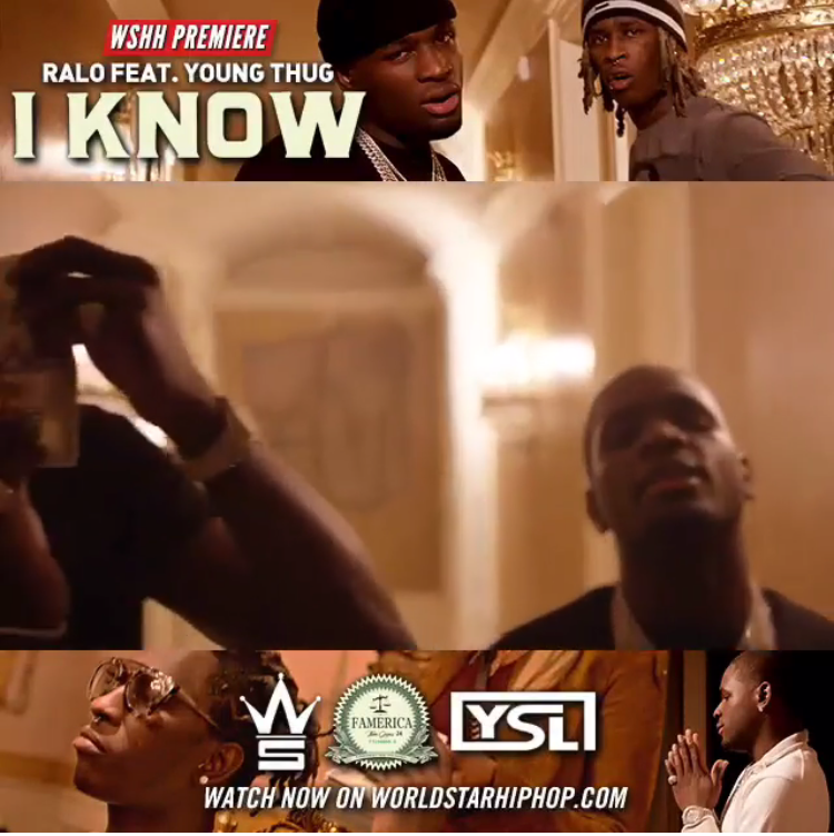 "Ralo dropped his Diary Of The Streets mixtape back in November and now drops first visual with Young Thug, titled ""I Know."""