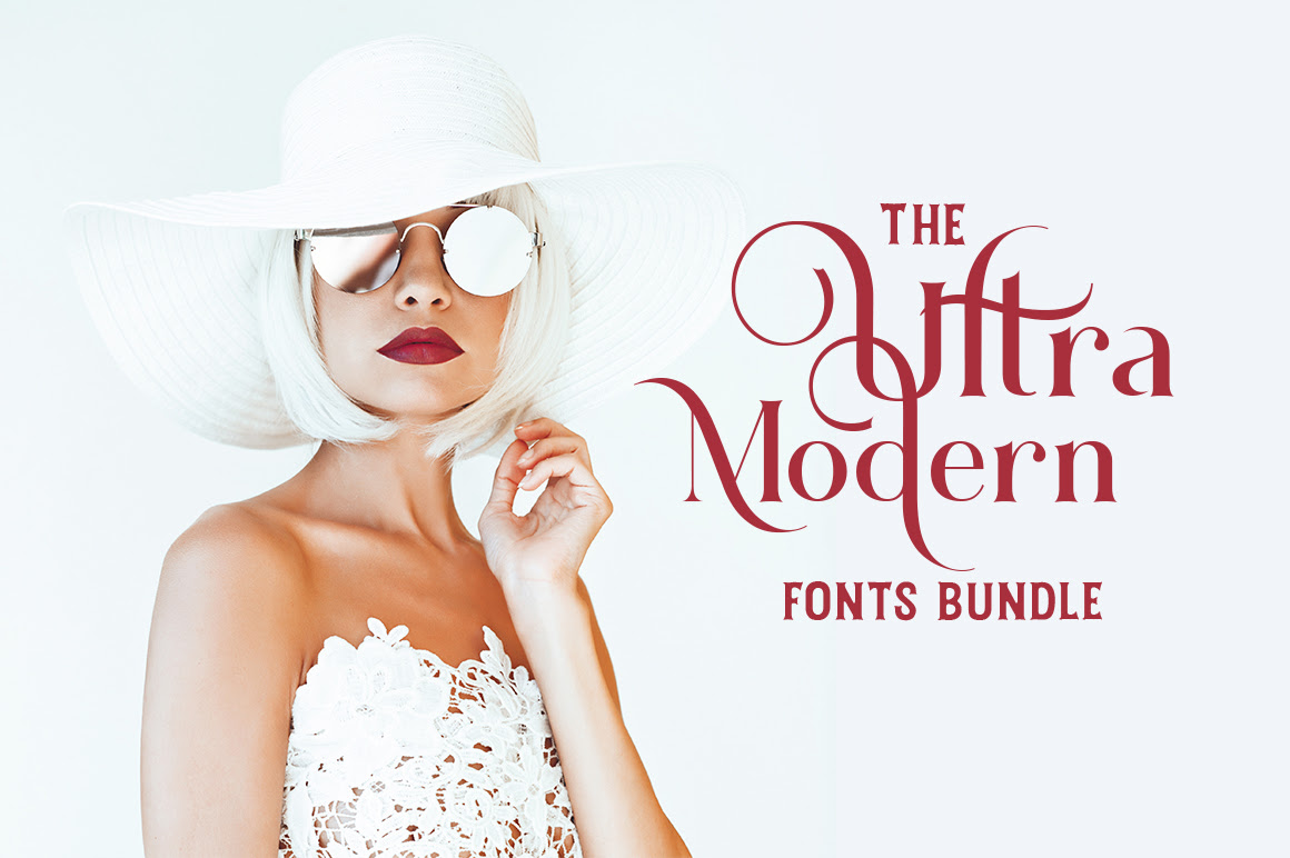 97% Off The Ultra-Modern Fonts Bundle 2019 - 81 Newly Made Fonts