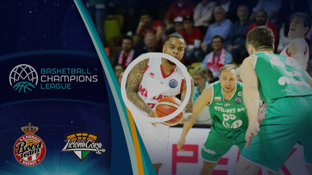 AS Monaco v Stelmet Enea Zielona Gora - Highlights - Basketball Champions League