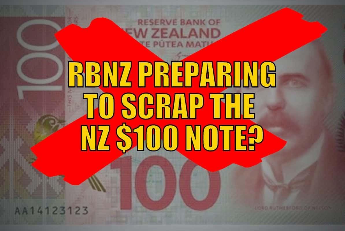 Scrap the $100 note?