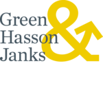 Green Hasson Janks logo