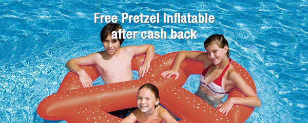 FREE GIANT Pretzel Pool Float 🏊