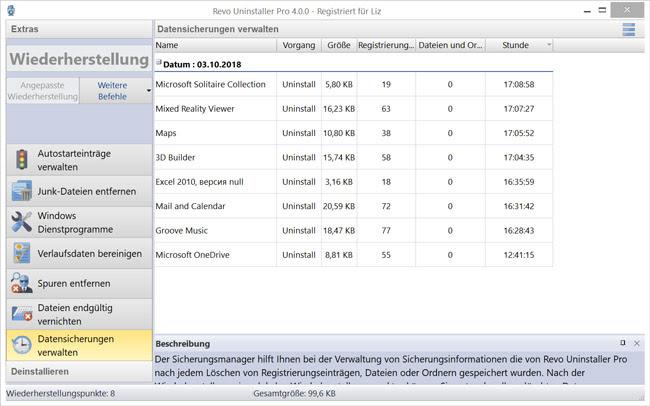 Revo Uninstaller 4 Pro Screenshot assurance