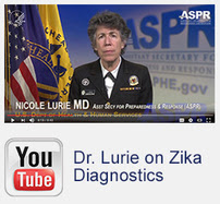 YouTube Video: Dr. Lurie on Zika Diagnostics