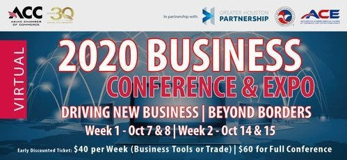 Asian Chamber Virtual 2020 Business Conference and Expo