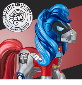 My Little Pony Transformer Crossover Collection Optimus Prime