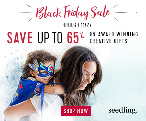 Save up to 65% off - Seedling Black Friday