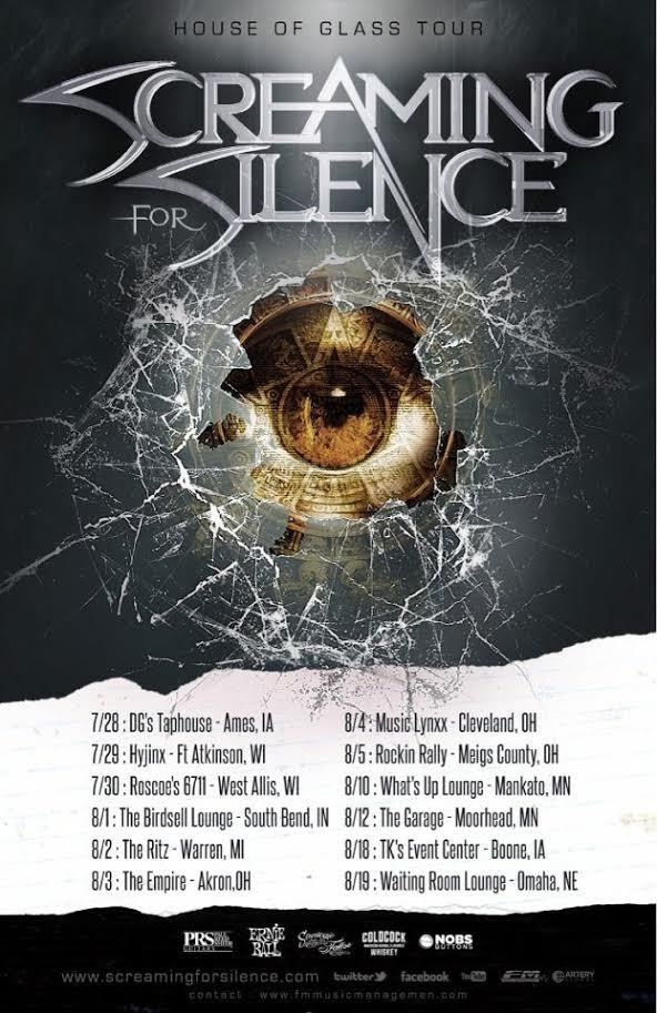 screaming for silence tour