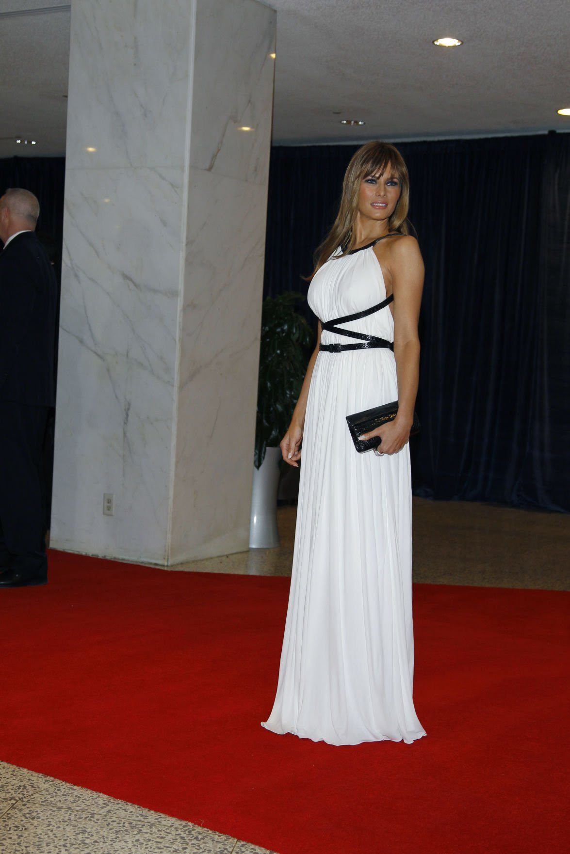 Melania Trump, April 2011
