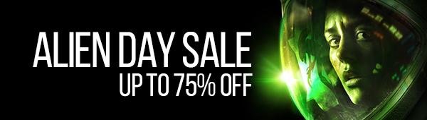 Alien Day Sale