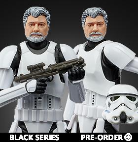 Star Wars: The Black Series George Lucas (Stormtrooper Disguise)