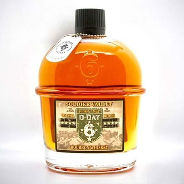 Soldier Valley Omaha Beach Bourbon Whiskey