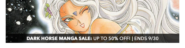 Dark Horse Manga Sale: up to 50% off! | Ends 9/30