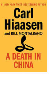 A Death in China by Carl Hiaasen and Bill Montalbano