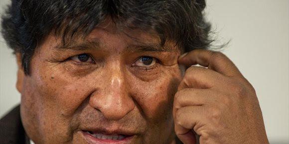 1. Morales denuncia la detención