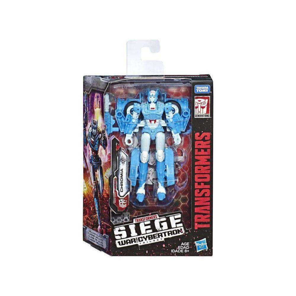 Image of Transformers War for Cybertron: Siege Deluxe Wave 2 - Chromia - FEBRUARY 2019