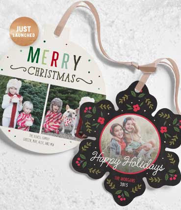 40% OFF ORNAMENT CARDS