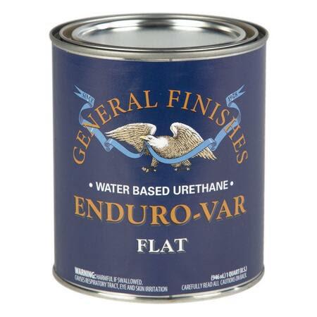 General Finishes Enduro Var wood finish Flat / Satin / Gloss