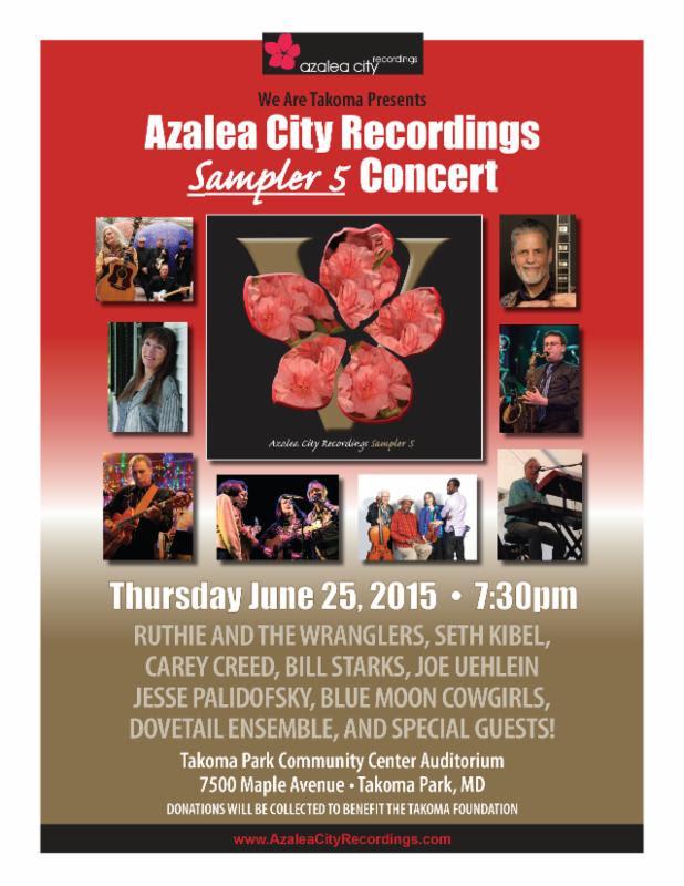 Azalea Sampler Release Concert poster
