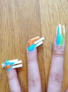 Plaster Nails
