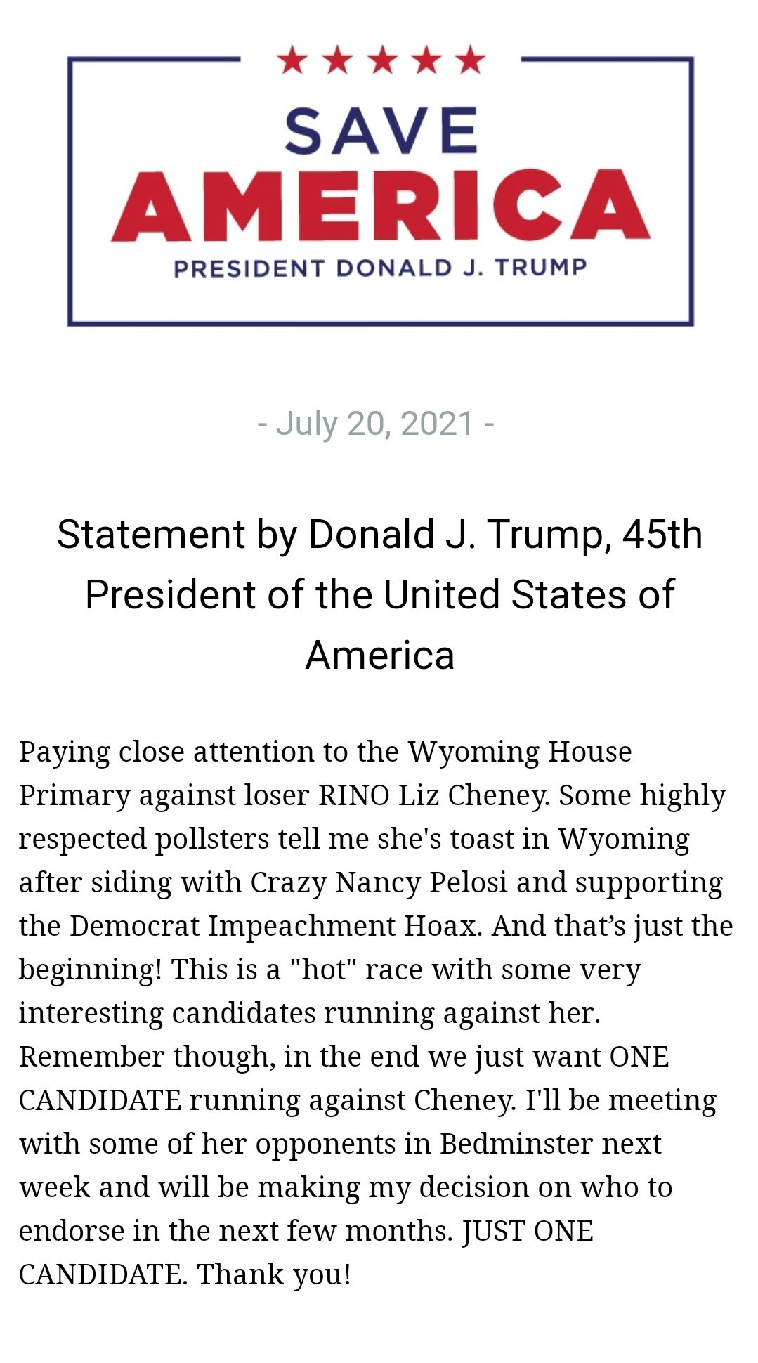 https://theconservativetreehouse.com/wp-content/uploads/2021/07/Trump-one-candidate-for-Wyoming.jpg
