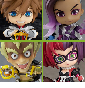 NEW NENDOROID FIGURES