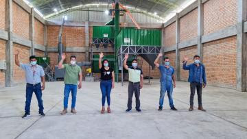 Caficultores de San Martín reciben maquinarias y equipo de control de calidad