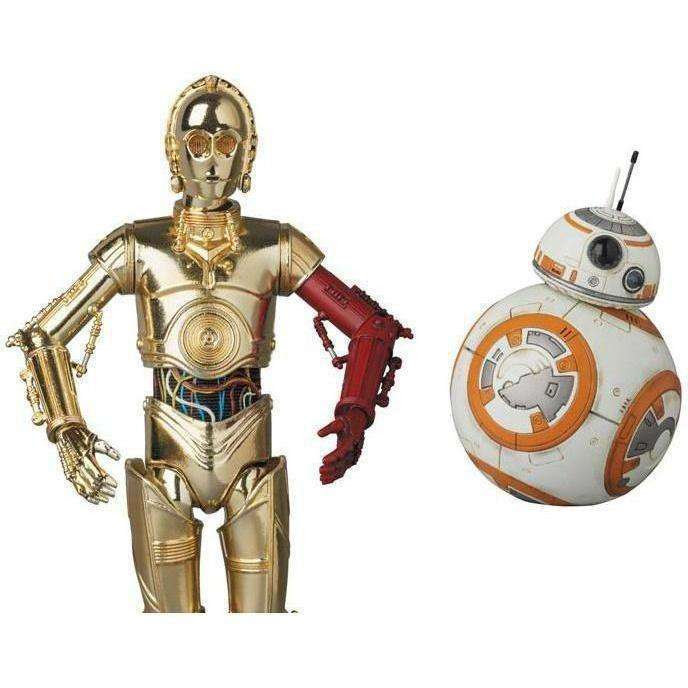 Image of Star Wars MAFEX No.029 C-3PO & BB-8 Figure Set