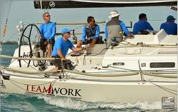 J/122 Teamwork sailing Key West
