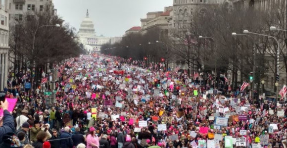 Women's March on DC January 21, 2017