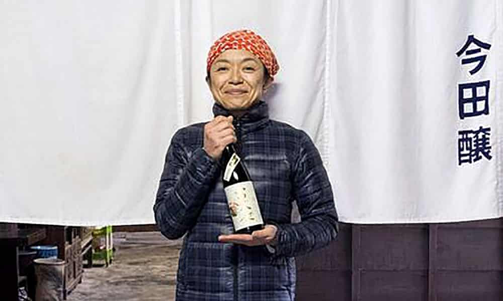 The woman excelling in Japan's male world of sake
