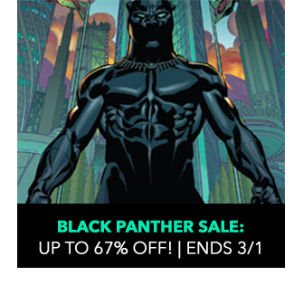 Black Panther Sale: up to 67% off! Ends 3/1.