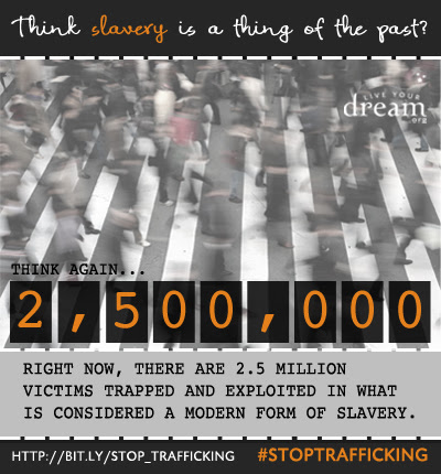 Share this today! Think slavery is a thing of the past?