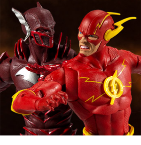Dark Nights: Metal DC Multiverse Earth -52 Batman (Red Death) & The Flash Two-Pack