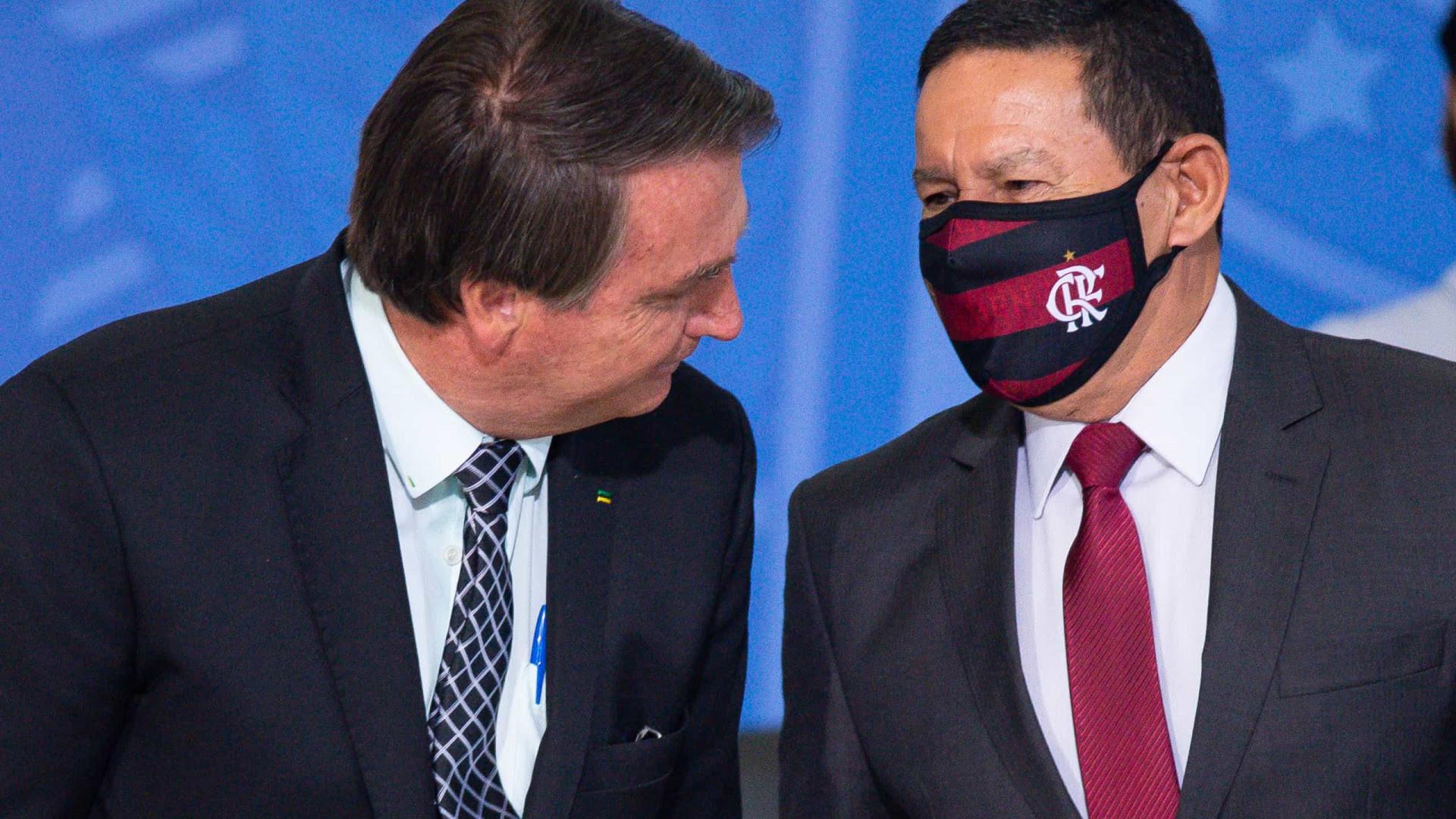 'Acho difícil o Senado aceitar', diz Mourão sobre denúncia de Bolsonaro