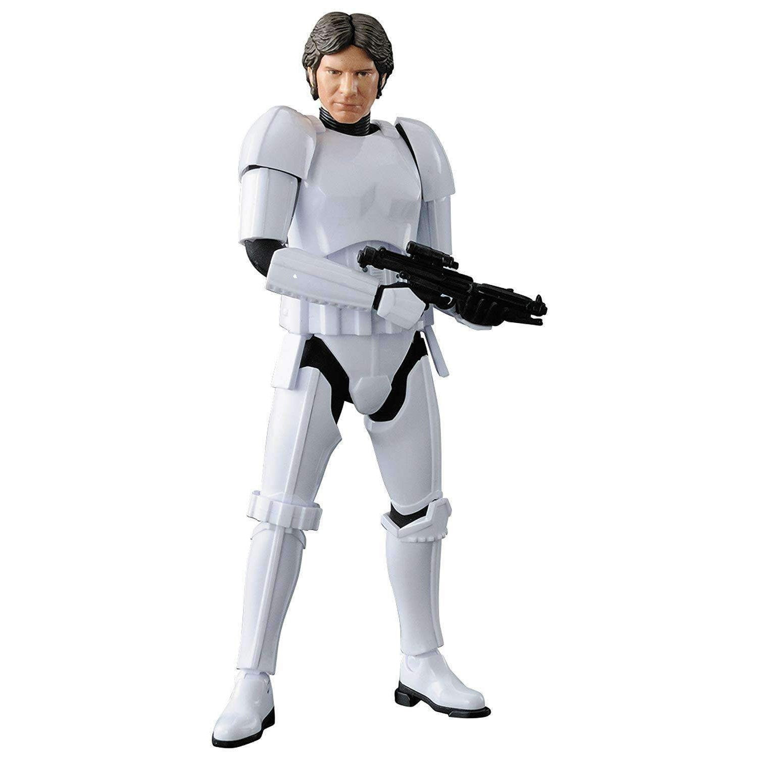 Image of Star Wars Han Solo (Stormtrooper) 1/12 Scale Model Kit