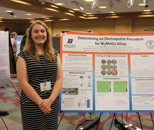 picture of Undergraduate Research Conference presentee